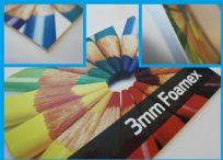Foamex 3mm Single Sided Sign
